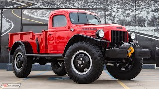 1950 Dodge Power Wagon FULLY RESTORED!