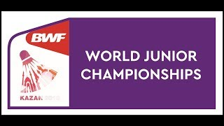 BWF World Junior Mixed team Championships 2019 - Day4 Court 1-6 of 9