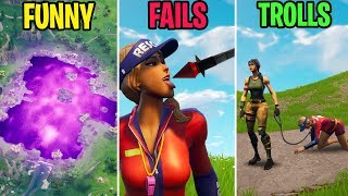 LOOT LAKE COMPLETELY TRANSFORMED! FUNNY vs FAILS vs TROLLS! Fortnite Funny Moments 281