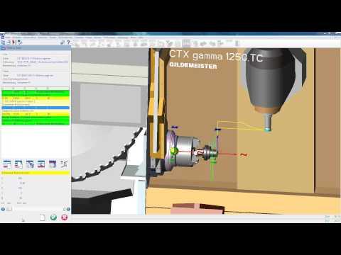 OPUS CAM Software - Mehrseitenbearbeitung und wechsel der Bearbeitungsseite