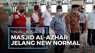 Jusuf Kalla Tinjau Persiapan New Normal di Masjid Agung Al Azhar Jakarta Selatan
