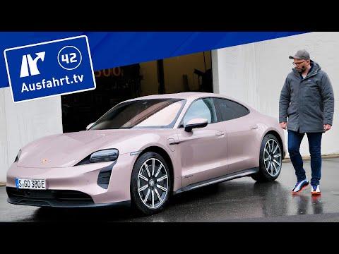 2021 Porsche Taycan Performancebatterie Plus  - Kaufberatung, Test deutsch, Review, Fahrbericht