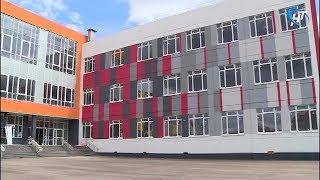 В строящейся школе №37 началась поставка оборудования