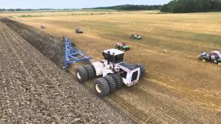 Big Bud with 21 bottom plow