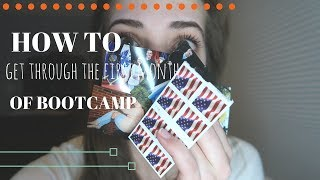 HOW TO GET THROUGH THE FIRST MONTH OF BOOTCAMP   Marine Girlfriend   Bootcamp Week 5