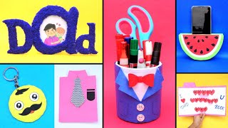 5 DIY Amazing Fathers Day Gift Ideas/ Best Out Of Waste/ Gifts Making For Dad During Lockdown