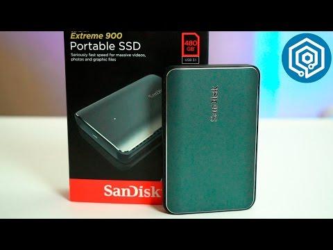 Sandisk Extreme 900 | ¡El disco duro SSD externo más rápido!