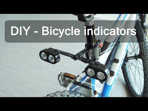 These DIY Bike Signals Are Easy To Make And Last For Ages On One Battery