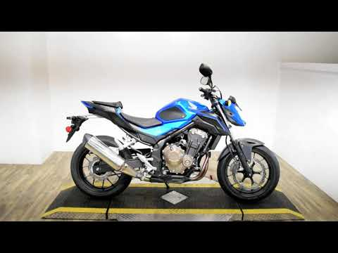 2018 Honda CB500F in Wauconda, Illinois - Video 1