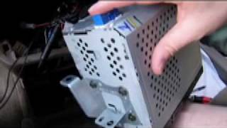 Sienna FM Modulator Install Radio