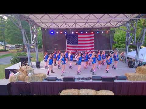 Hide the Wine Line Dance (Carly Pearce) - Boot Girls at Spur Fest '18