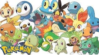 Top 10 Starter Pokémon
