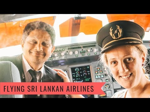Who flies to Sri Lanka From London?