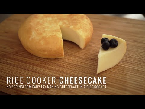 "Video Rice Cooker ""Cheesecake"""