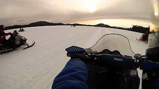 preview picture of video 'GoPro: sxr500 lake riding/ racing in speculator ny'