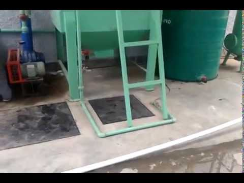Textile Industries Effluent Treatment Plant