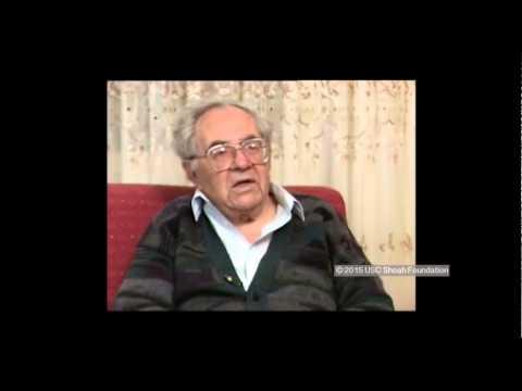 הפרטיזן וניצול השואה שלום חולבסקי מספר על אקציית הרצח של יהודי העיר ניסבייז'