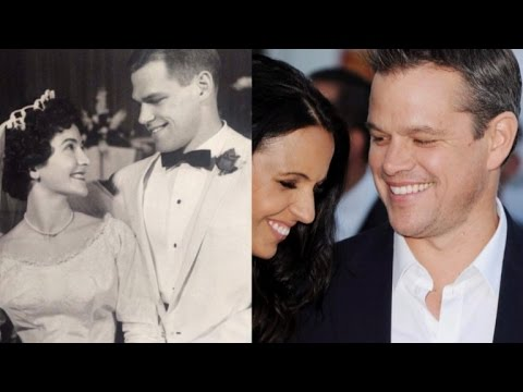 Son Shocked That His Dad Looks Just Like Matt Damon in 1961 Wedding Photo