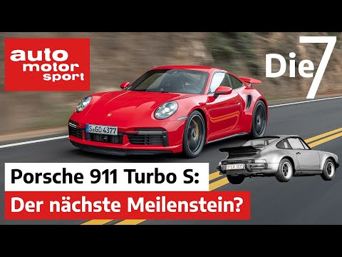 Porsche 911 Turbo S: Nächster Meilenstein oder reines Luxus-Spielzeug? | auto motor und sport