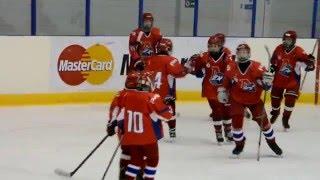 Локомотив - Олимпиец (6:2); 3й период. Детский хоккей (2003 г.р.)