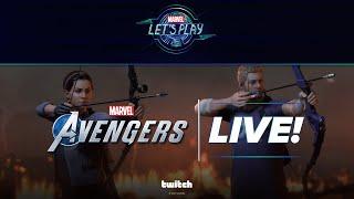 Hawkeye Tag Team in Marvel's Avengers!