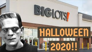 HALLOWEEN 2020 At BIG LOTS | Shop With Me For Halloween Decorations | Gemmy Animated Items And More!