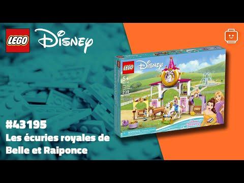 Vidéo LEGO Disney 43195 : Les écuries royales de Belle et Raiponce