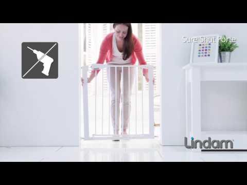 Munchkin Lindam барьеры-ворота Sure Shut Porte 75-82 см