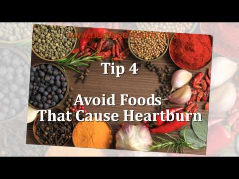 Video How To Stop Heartburn - 6 Easy Tips To Get Rid Of Heartburn