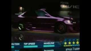 preview picture of video 'LOS CARROS MAS BACANOS DE LA NFS 1'