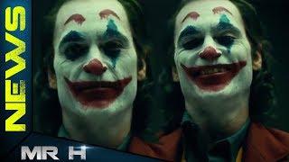FIRST LOOK Joaquin Phoenix FULL JOKER MAKE UP Revealed For Joker Origin Movie