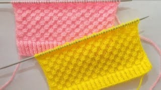 Beautiful Knitting Stitch Pattern For Sweater