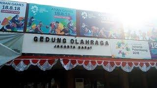 Jelang Asian Games, GOR Grogol Terus Dibenahi