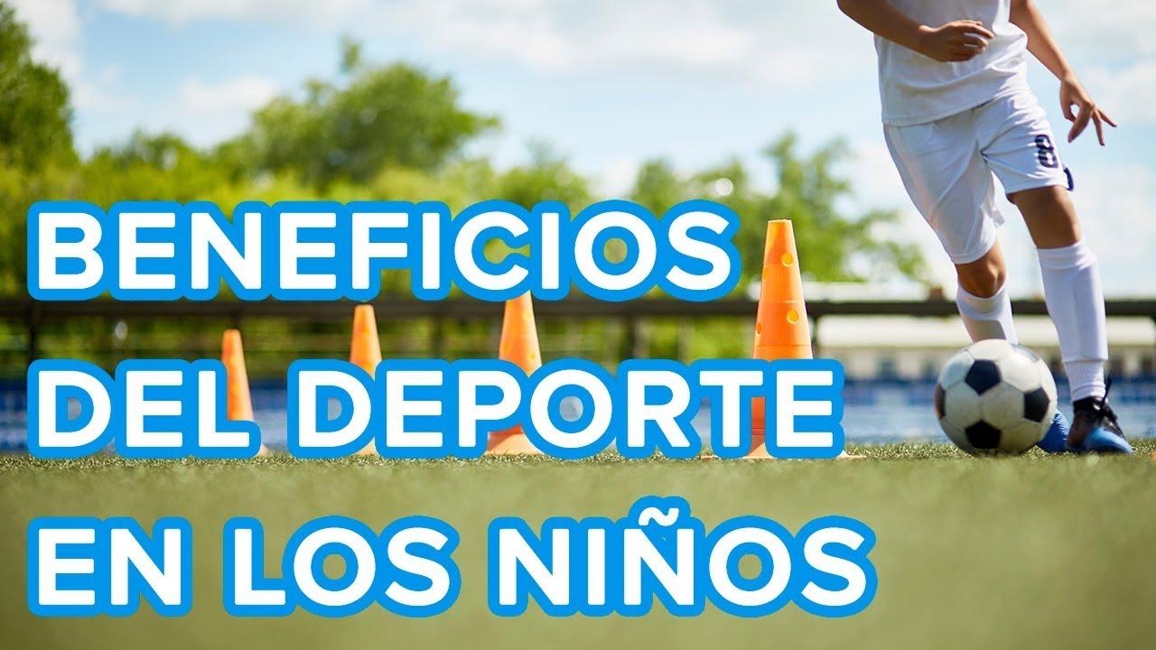 Cómo evitar conductas de riesgo en los niños con el deporte | Beneficios del deporte para niños ⚽