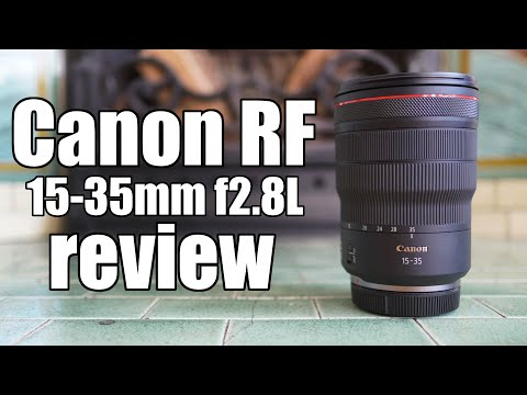 External Review Video fcppC8lGJmM for Canon RF 15-35mm F2.8L IS USM Lens