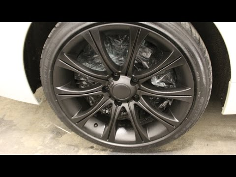 Plasti Dipping BMW M5 RIMS! New Project Dream Banner!