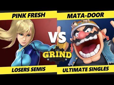 Smash Ultimate Tournament - Pink Fresh (ZSS) Vs. Mata-Door (Wario) The Grind 101 SSBU Losers Semis