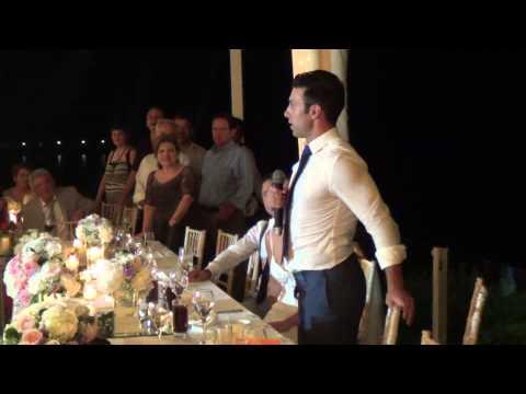 Wedding Speech: Bride's Brother. I LOVE YOU! (Nea Makri, Greece)