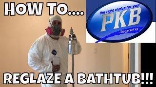 HOW TO REGLAZE A BATHTUB!! DO NOT DIY! --PHILLIPS FamBam DIY