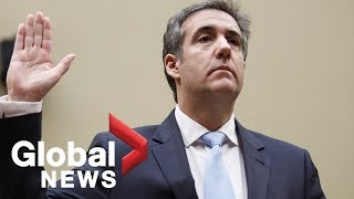Michael Cohen FULL opening statement to Congress