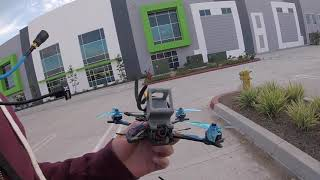 Braking an arm with Glide 5 6S | FPV FREESTYLE