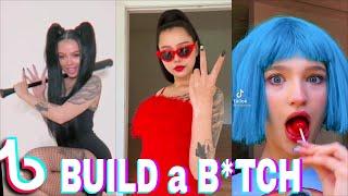 bella poarch build a b tch tiktok challenge compilation...