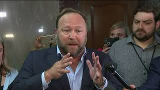 Infowars' Alex Jones crashes social media hearing