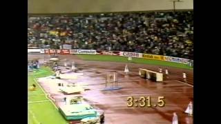 European Championship 1986- Stuttgart Decathlon 1500m