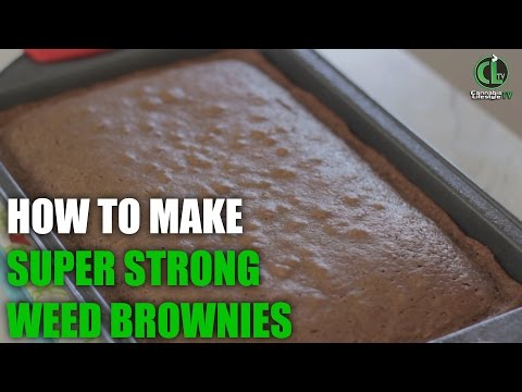 How to make super strong weed brownies (aka Chronies)