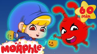 Halloween! Morphle and Mila turned into Ghosts! Scary but Cute Halloween Videos For Kids