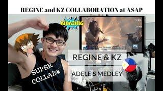[REACTION] SUPER COLLAB! KZ TANDINGAN & REGINE VELASQUEZ-ALCASID - ADELE