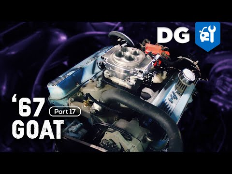 FIRST START: Carburetor to Holley Sniper EFI Conversion | '67 Pontiac GTO [EP17]