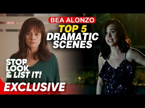 Top 5 Bea Alonzo Dramatic Scenes | Stop, Look, and List It!