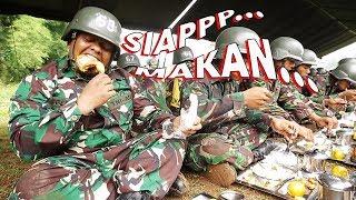 Download Video Mencicipi Menu Makan Siang Tentara MP3 3GP MP4